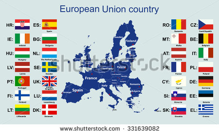 stock-vector-the-european-union-map-and-all-the-countries-flags-of-the-member-countries-of-the-european-union-331639082